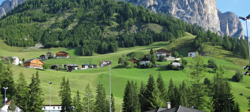 Review of campsites for via ferrata in theDolomites