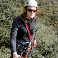 There's no need to shout: using walkie-talkies when rock climbing