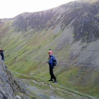 Wire in the Lakes - the Honister Slate Mine Via Ferrata