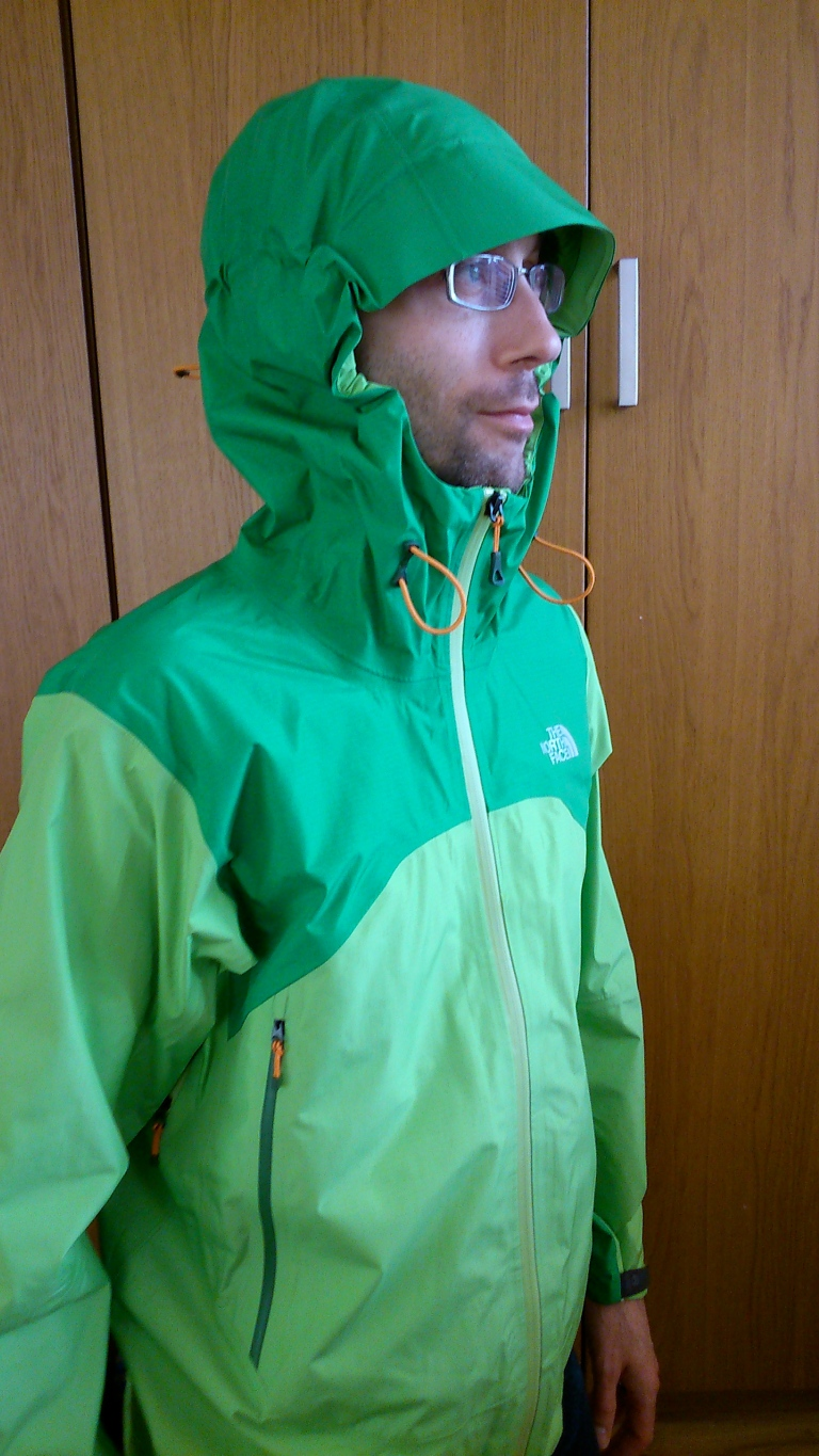 Me in the North Face Alpine Project Jacket that I won.