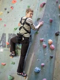 Climbing while pregnant