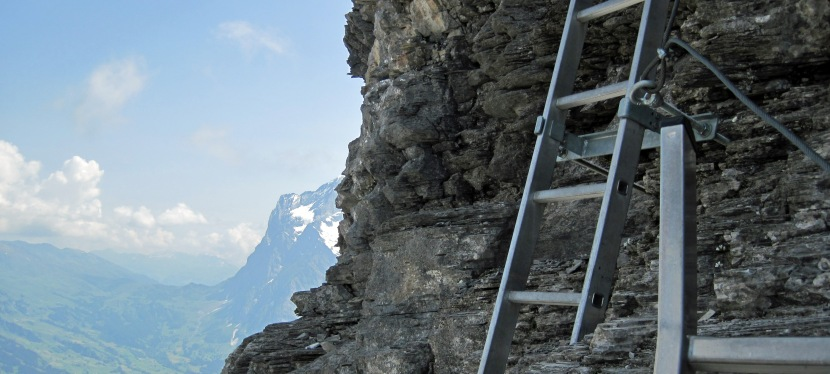A Little Bit of the Eiger – the Rotstock Via Ferrata