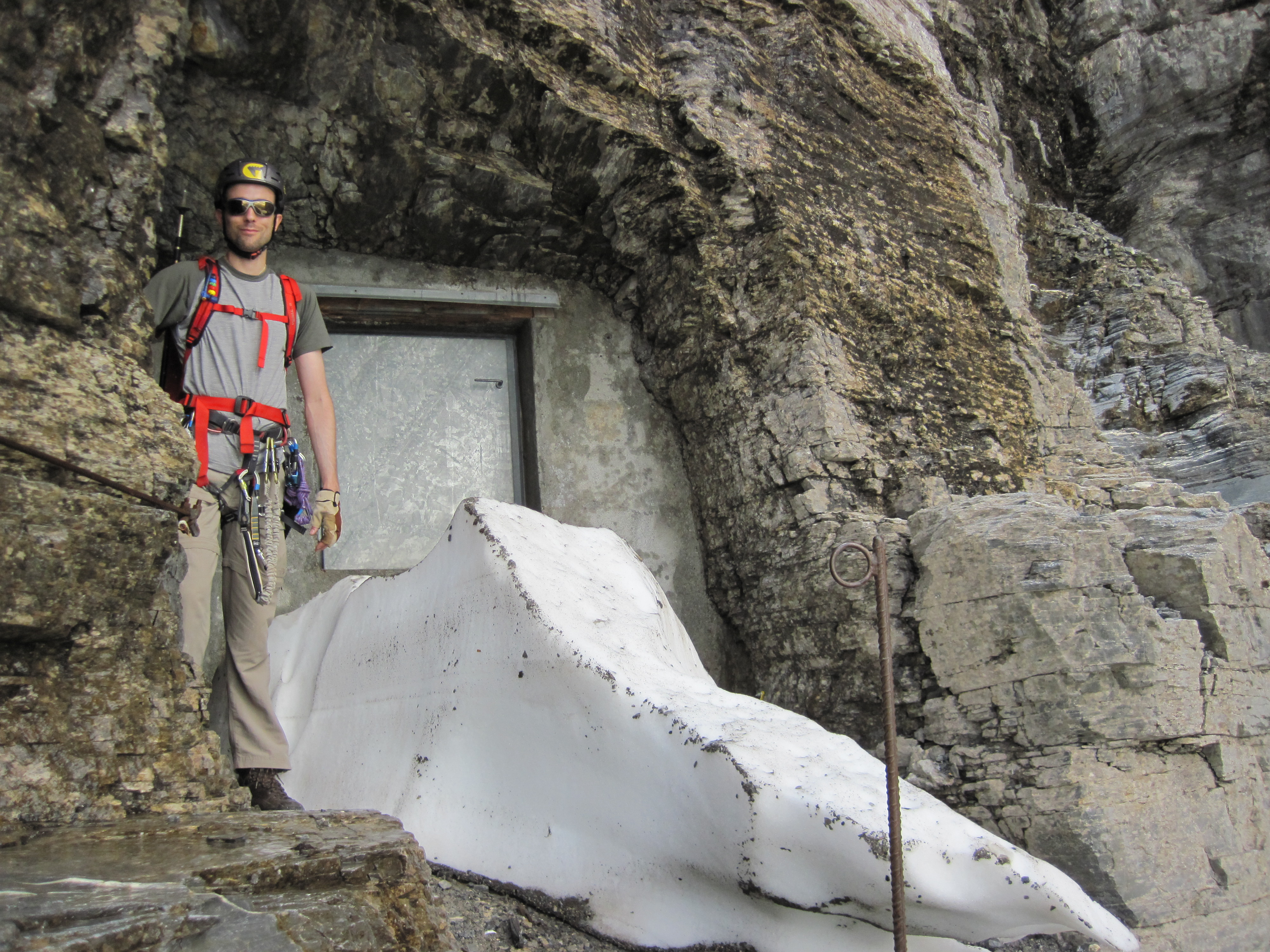 Klettersteig Rotstock : A little bit of the eiger u2013 rotstock via ferrata severe