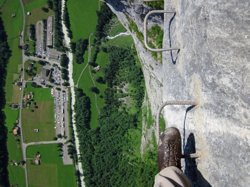 Via Ferrata on the Edge