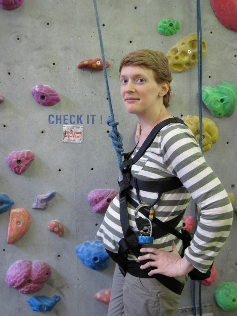 Ready to climb with Bump.