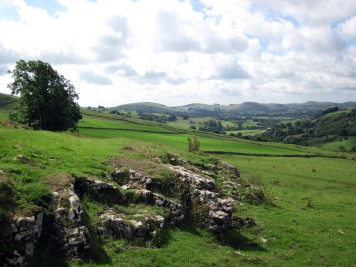 By Calder Low, near Hartington.