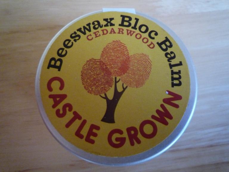 Castle balm tin