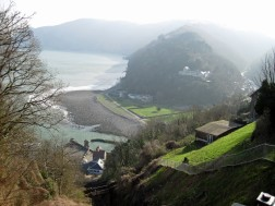 Lynmouth from Lynton