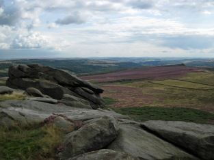 A view from Higgar Tor.