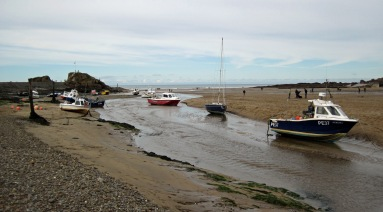 Boats at Bude.