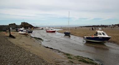 Boats at Bude.
