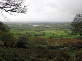 The view from the Don Whillans Memorial Hut.