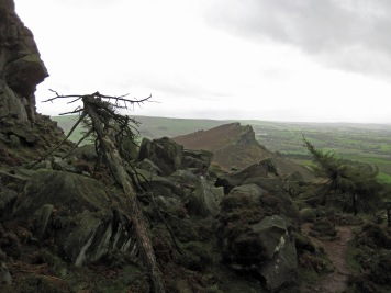 Boulders on the Upper Tier of The Roaches.