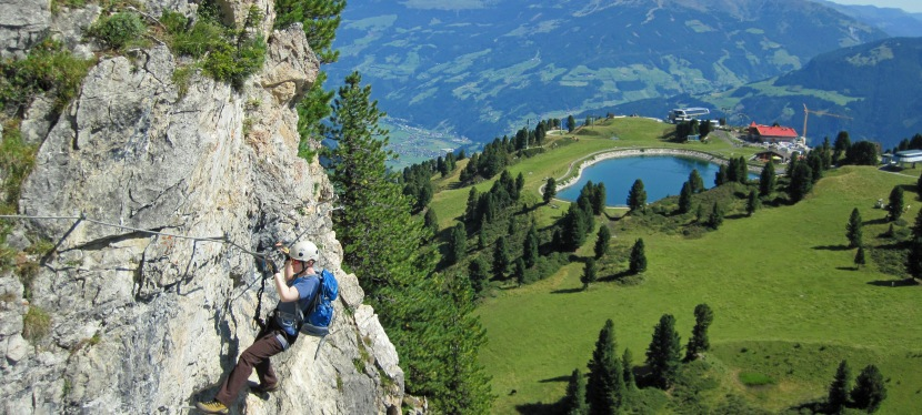 Small and Perfectly Formed – the Klettersteig Knorren