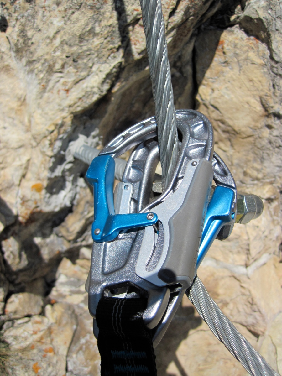 A Good Turn?  Review of Mammut's Tec Step Bionic Turn 2 via ferrata set