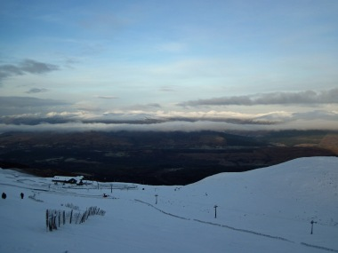 The Anoach Mor ski area.