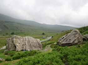 The Marsh Boulder and the Frontside Boulder at the RAC Boulders.