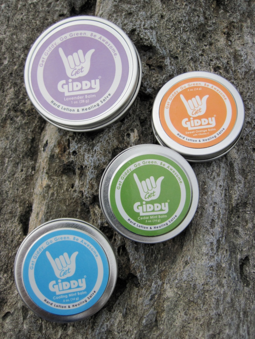 Got Giddy – a review of Giddy balms
