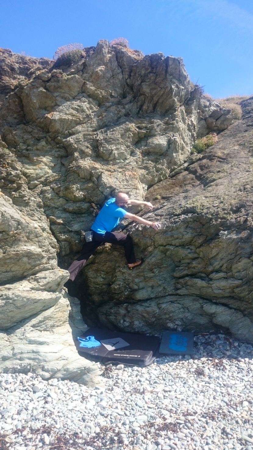 Beachside Bouldering on Anglesey
