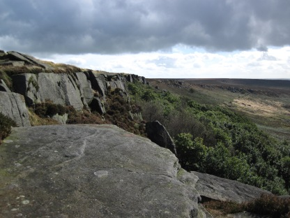 Burbage, where I did the second day of the self-rescue course.