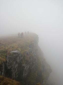 Walking on The Black Mountain.