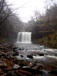 Sgwd yr Eira (a beautiful waterfall that you can walk behind).