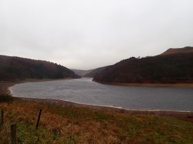 Ladybower Reservoir in the Woodlands Valley.
