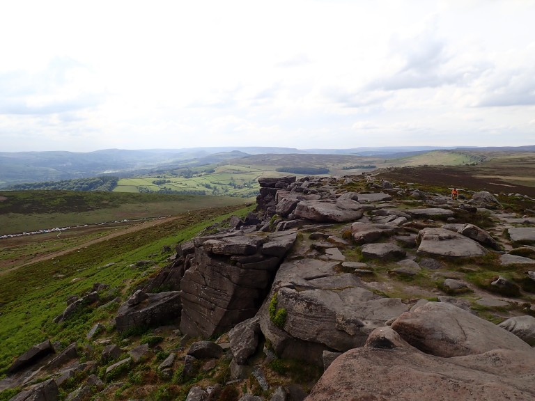 A view of Stanage Far Right