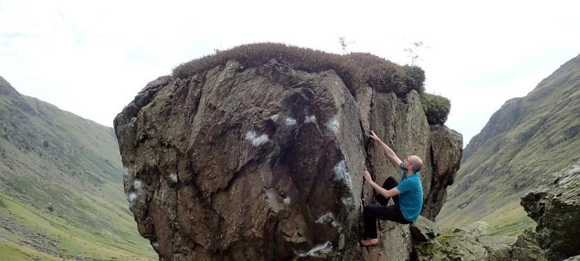 Bouldering in Longsleddale