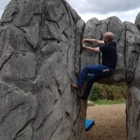 Back to Climbing (Concrete)